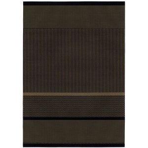 Woodnotes San Francisco Paperinarumatto Musta Nutria 170x240 Cm