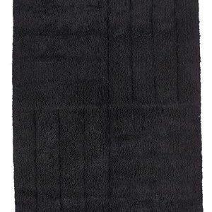 Zone Denmark Kylpyhuoneenmatto Musta 80x50 cm